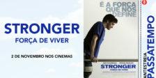 Participa e habilita-te a ganhar um convite duplo para a antestreia do filme de coragem Stronger: Força de Viver.