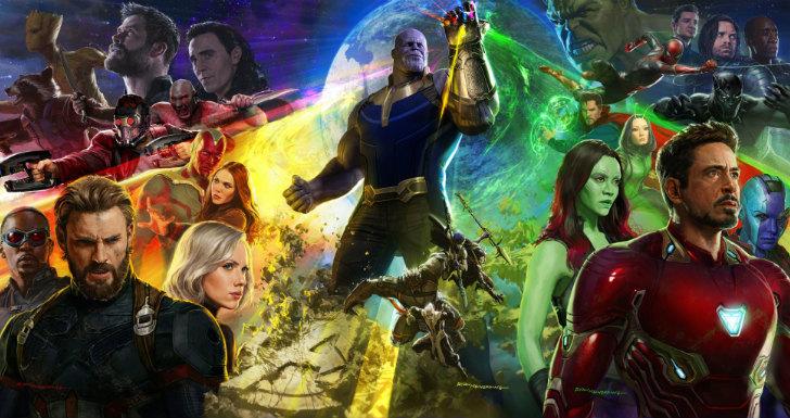 Avengers Infinity War contagem trailer