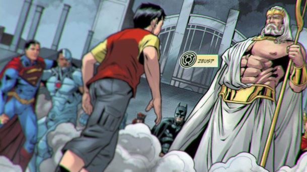 Justice League Zeus