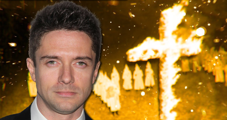 Topher Grace Black Klansman