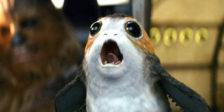 """Conhece Porg, a concorrência de Chewbacca, e outras revelações no novo trailer de """"Star Wars: Os Últimos Jedi""""."""