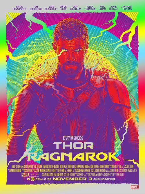thor ragnarok melhores posters