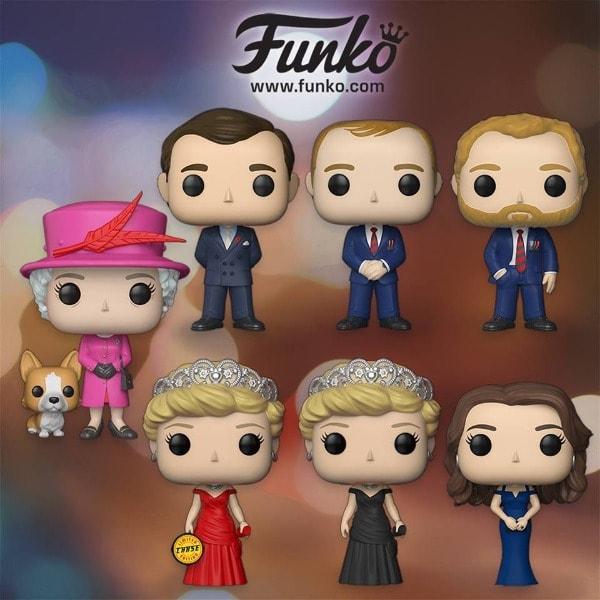 POP! Funkos, Família Real britânica