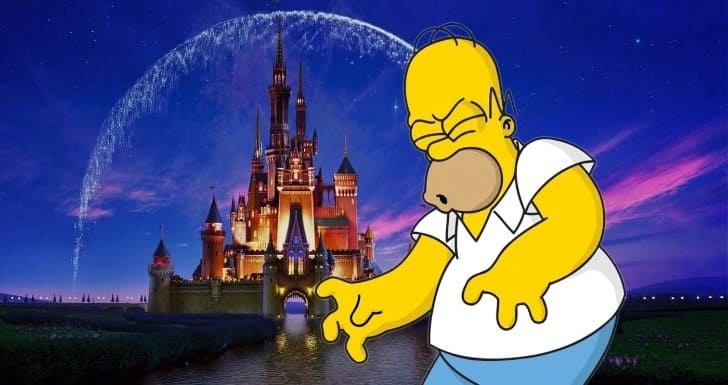 Simpsons, Disney, Fox