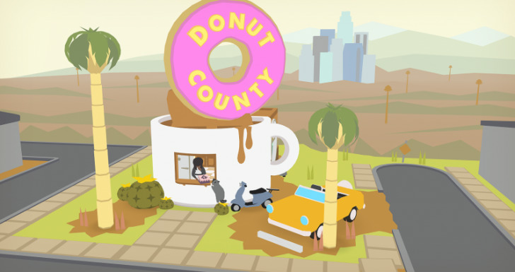 donut county playstation experience