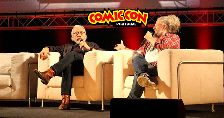 Edward J. Olmos Comic Con Portugal