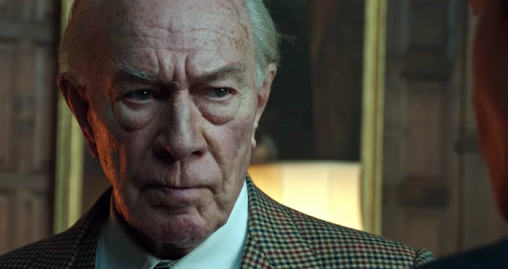 Christopher Plummer, Kevin Spacey, All The Money in The World, Ridley Scott
