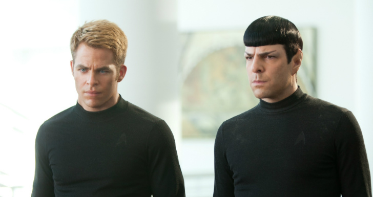 star trek chris pine zachary quinto