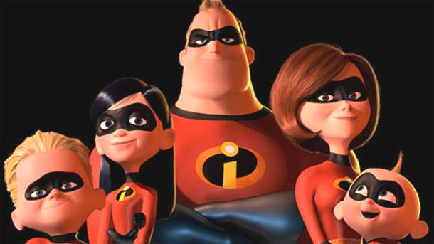 The Incredibles 2 familia