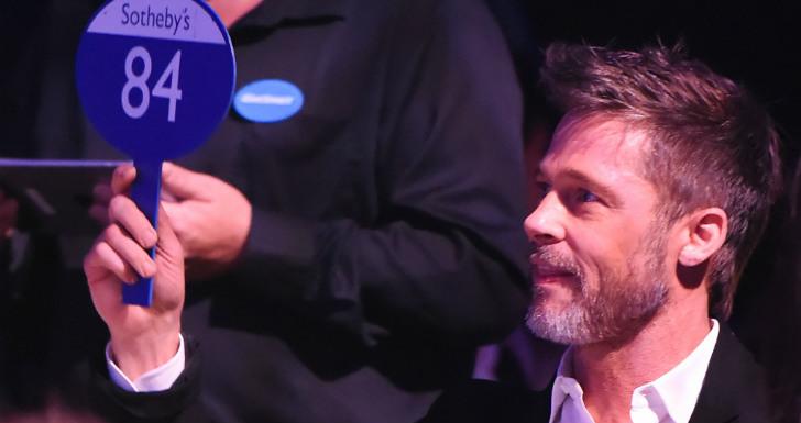 Brad Pitt leilão Game of Thrones