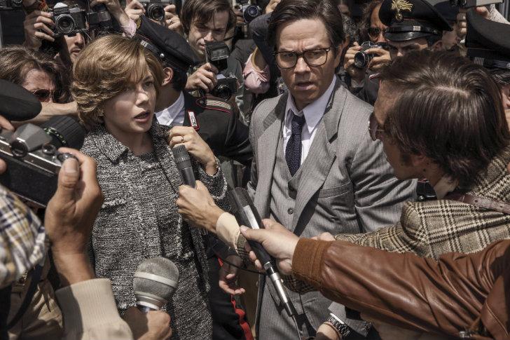 Michelle Williams Mark Wahlberg Todo o Dinheiro do Mundo
