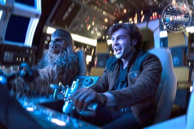 Chewbacca e Han Solo