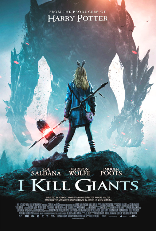 I Kill Giants official poster