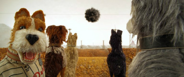 A Ilha dos Cães, Wes Anderson, Isle of Dogs