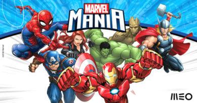 Marvel Mania é o novo canal especial do MEO