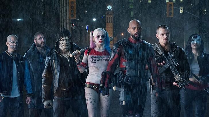 """Harley Quinn e restante """"Suicide Squad"""""""