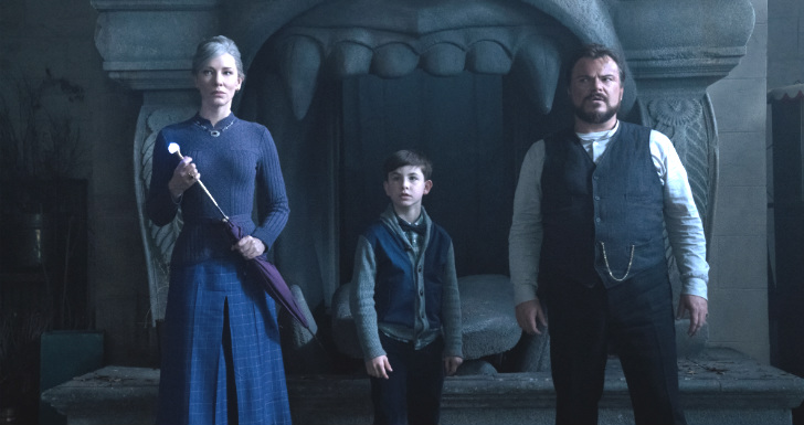 The House with a Clock in its Walls, jack black, cate blanchett