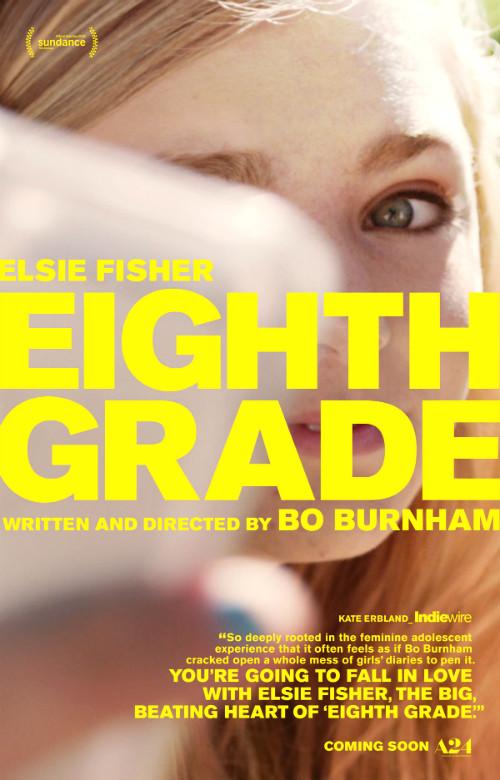 Eight Grade poster