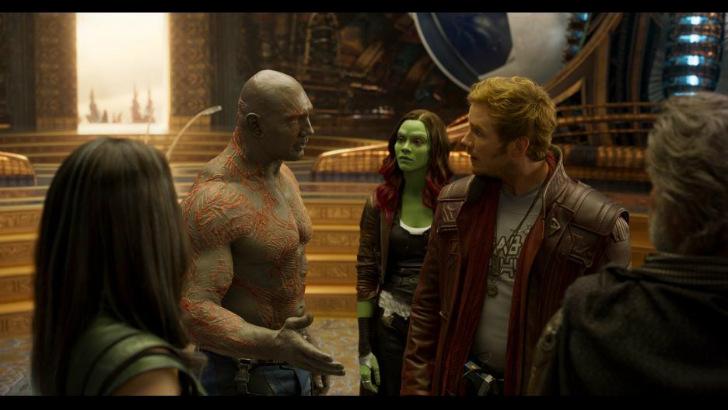 guardiões da galáxia vol. 2 mcu avengers infinity war