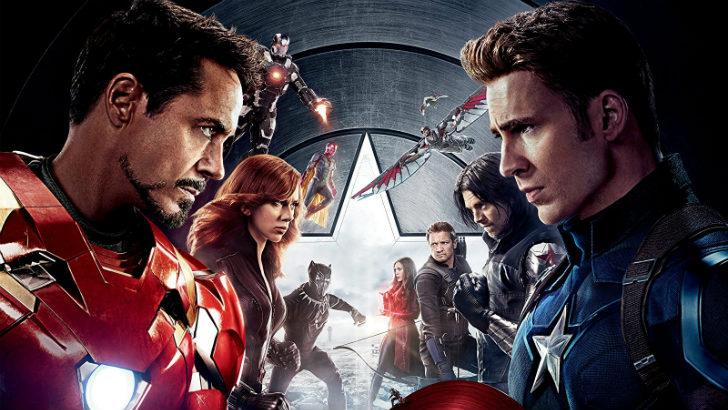 captain america civil war avengers infinity war mcu