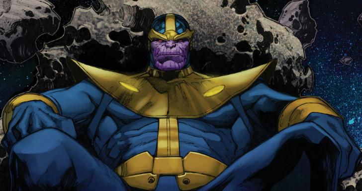 thanos avengers infinity war mcu