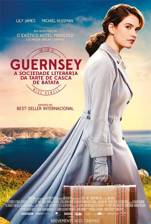 Guernsey: A Sociedade Literária da Tarte de Casca de Batata