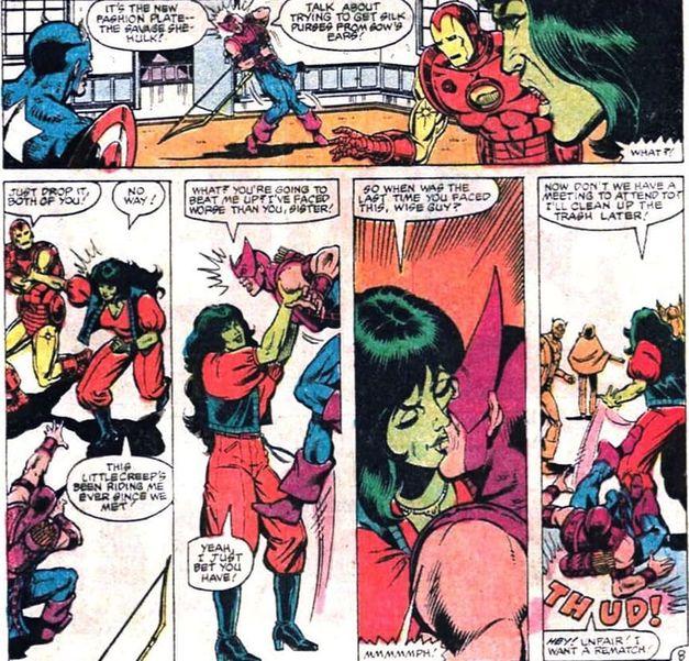Mulher-Hulk, Gavião Arqueiro