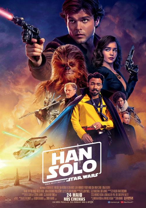 Han Solo Novo Poster