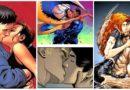 Os 10 melhores beijos do universo Marvel