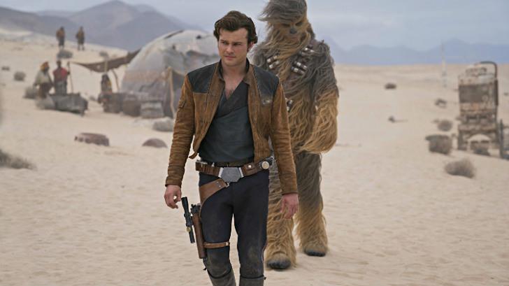 han solo Star Wars figura de estilo