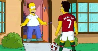 Os Simpsons já contam com Portugal na final do Mundial