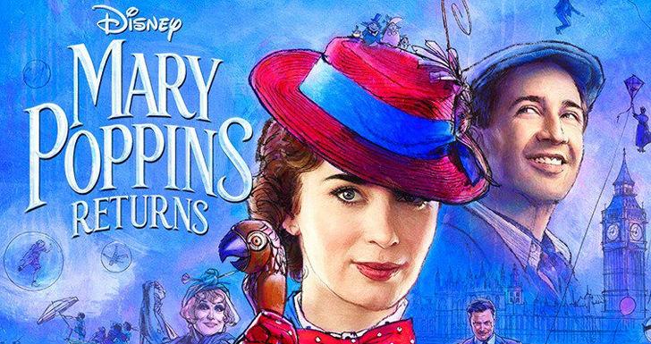 O Regresso de Mary Poppins é marcado com um novo trailer cheio de magia
