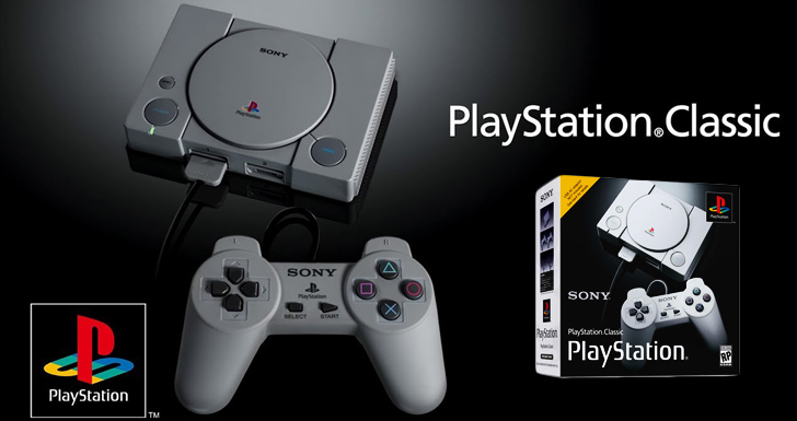 Playstation Classic, Sony