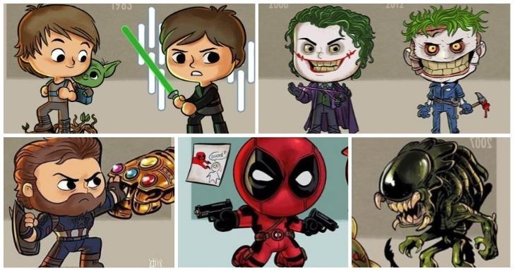 Personagens Mais conhecidas