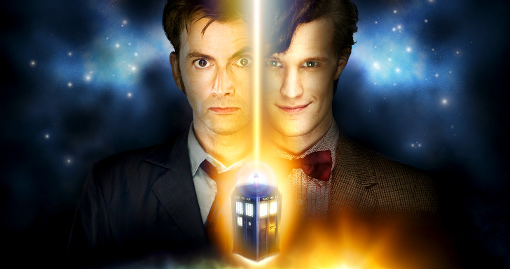 doctor who matt smith david tennant