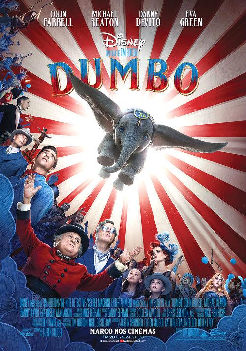Dumbo teaser poster PT