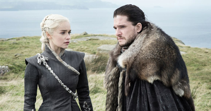 game of thrones jon e dany