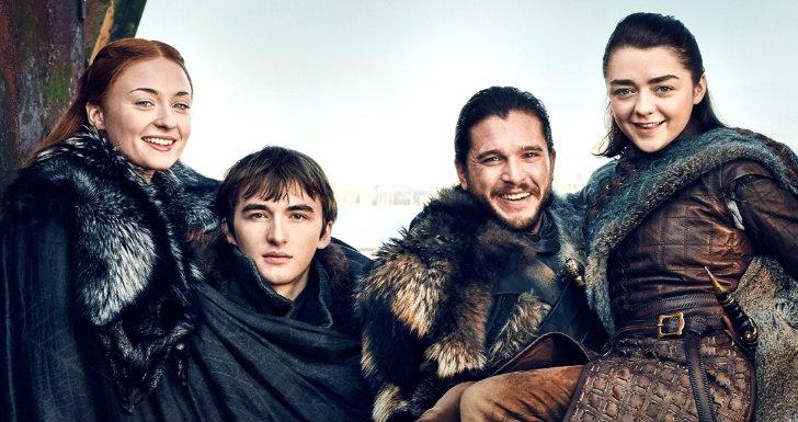 Stark reunion gameof thrones