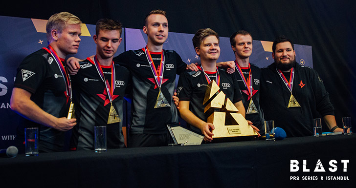 Astralis Blast Pro Series Counter-Strike