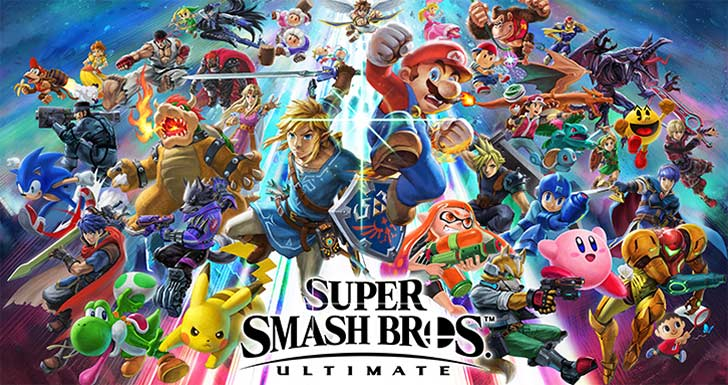 Super Smash Bros. Ultimate Personagens