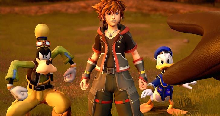 Kingdom Hearts III jogos a não perder