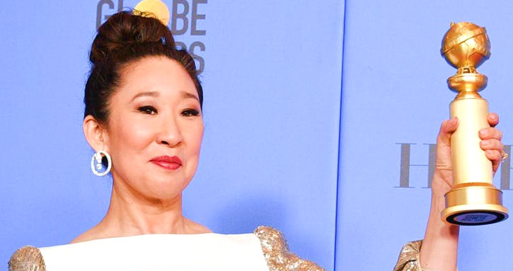 Sandra-Oh-Golden-Globe-winner
