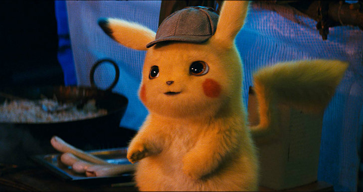 detective pikachu pokémon