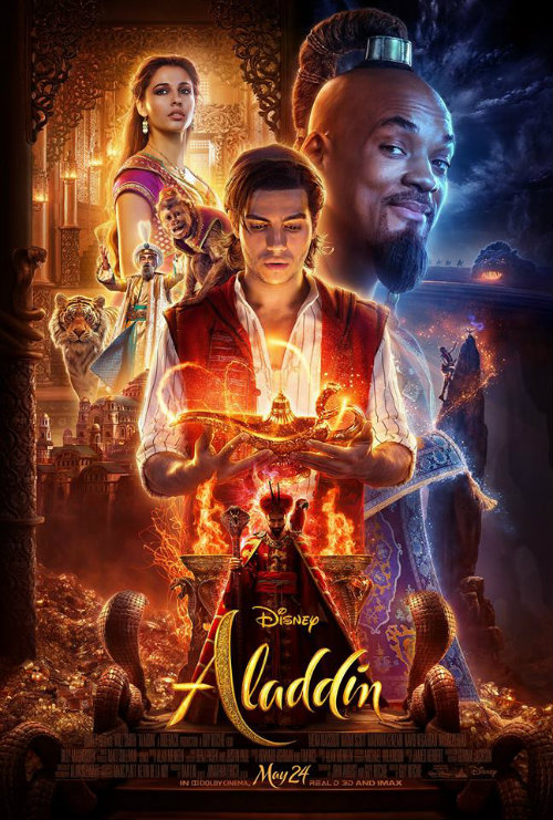 Aladdin poster ENG