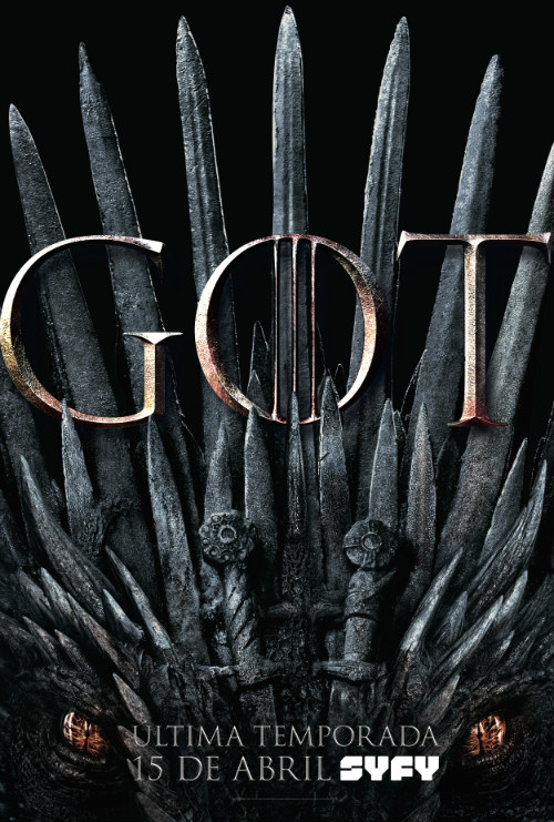 Game of Thrones poster oficial