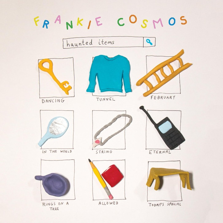 """Haunted Items #1 Frankie Cosmos """"dancing"""" """"tunnel"""""""