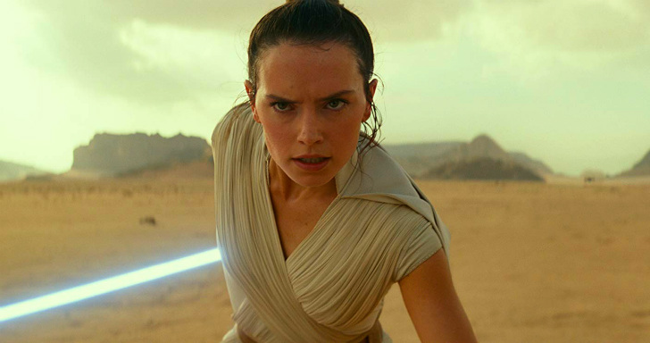 Daisy Ridler em Star Wars: The Rise of Skywalker