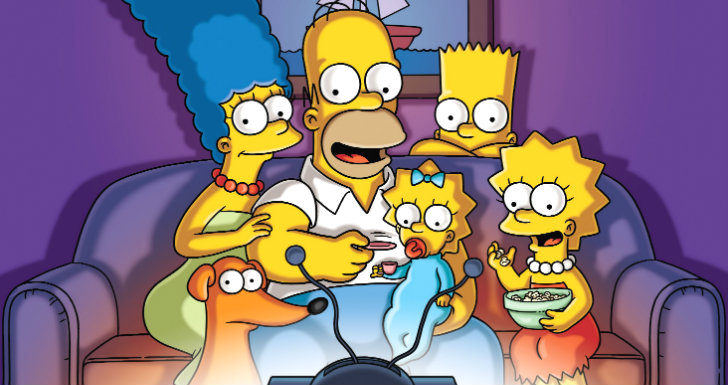 famílias The Simpsons