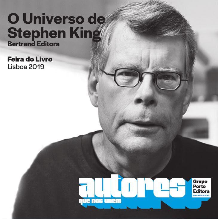 Stephen King na Feira do Livro
