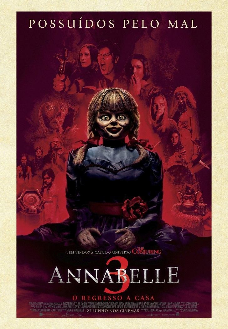 Annabelle 3: O Regresso a Casa